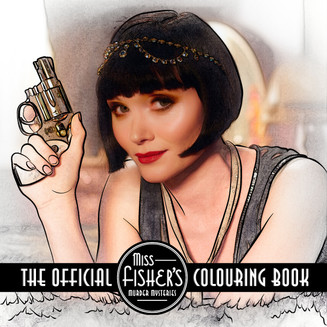 Miss Fisher releases a Colouring Book 1
