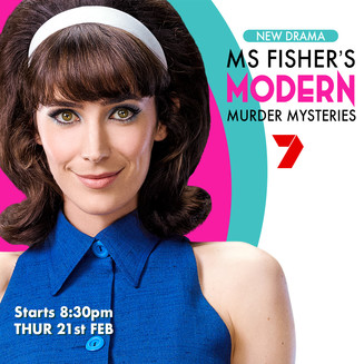 MS FISHER'S MODERN PREMIERING ON CHANNEL 7
